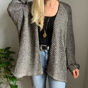 Velvet G&S oversized cardigan sweater s small